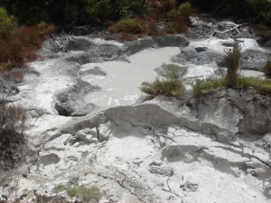 Boiling, bubbling mud...