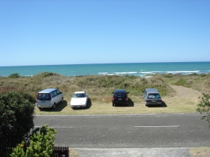 From the veranda at Ohope